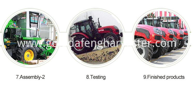 full-feeding rice harvester -Product line 02