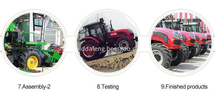 full-feeding rice harvester -Product line 02