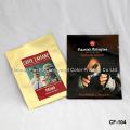 Индивидуальный печатный четырехместный герметичный пластиковый пакет One Way Valve Coffee Bag