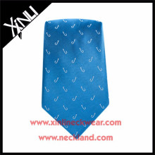 Stylish Men Jacquard Woven Design Your Own Silk Tie Fishing Tackle