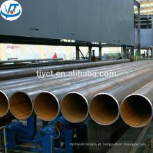Tubulação de aço carbono do grande diâmetro de 36 polegadas / tubulação soldada tubulação de aço de baixo carbono / tubulação soldada aço