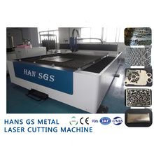 500W Metal Laser Cutting Machine , Hans GS-LFD3015 CNC Laser Cutter