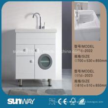 Venta caliente de muebles de lavandería con lavabo