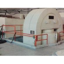 Maquina de prensa hidraúlica de ladrillo automático