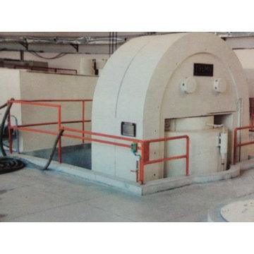 Machine de pressage hydrualique à briques automatiques
