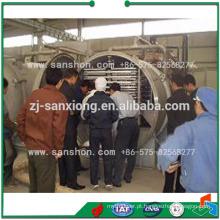 Máquina de liofilizador de vácuo vegetal