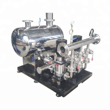 PID controller booster pump water supply system