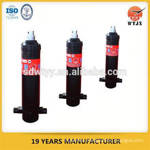 T type single action hydraulic cylinder for small ton dump truck