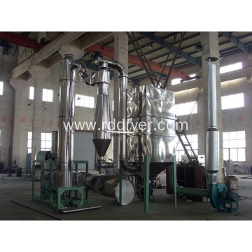 Spin flash dryer of cellulose acetate