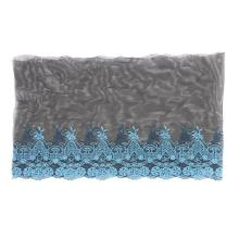 Reliable for Net Lace Trimming,Embroidered Tulle Fabric,Net Lace Fabric Manufacturer in China Hot-sale lace embroidery lace trim export to South Korea Wholesale