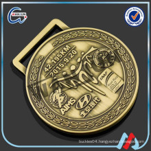 Newest Design brass car emblem medal for sports match