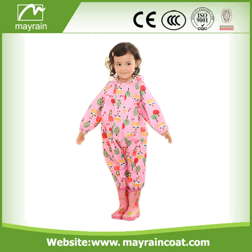 Nylon Rainsuit Full Print