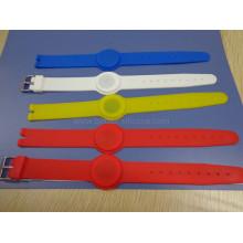 Экологичные тренажерные залы Фитнес резиновый силиконовый браслет RFID