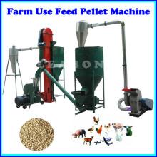 Bauernhof oder hausgemachter Gebrauch Kleine Futter Pellet Produktionsanlage Linie