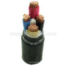 Câble PVC / PE / XLPE / Cuivre / Isolé / Cuivre / Caoutchouc
