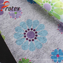 Tissus non tissés imprimés en polyester de bonne qualité