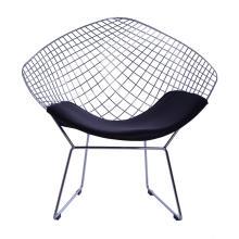 Chaise lounge Harry Bertoia Diamond wire réplique