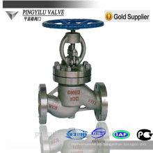 Válvula de acero inoxidable aumento de la válvula del globo precio