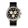 silicone band quartz watch swiss design waterproof watch