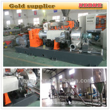 Wood plastic granulator production line