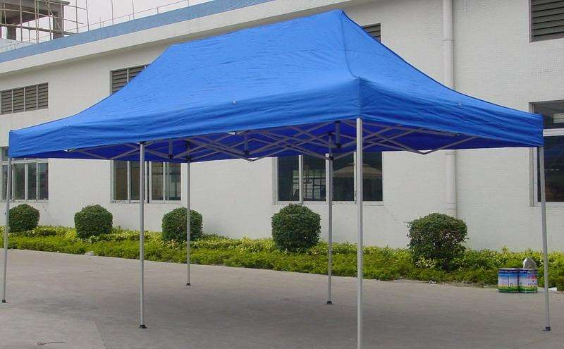 Folding Tent With Oxford Cloth open