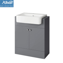 Modern White Lacquer Vanity Bathroom Cabinet
