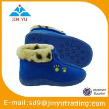 2015 chaussures en daim bleu