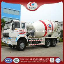 6x4 Concrete mixers truck 10m3 hydraulic pump concrete mixer for sale