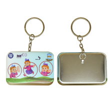 Key Ring Metal with Customized Picture Keyring