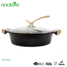 Utensilio de cocina Die Cast Low Low Soup Pot