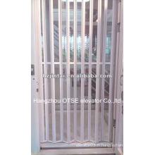 Portes pliantes intérieures pour ascenseur