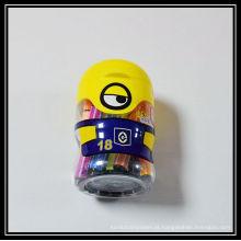conjunto de canetas coloridas para amostras gratuitas de material de arte