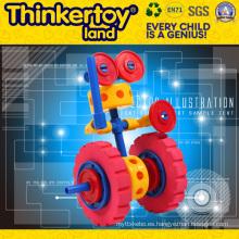 Juguete bricolaje bloques de construcción rompecabezas de juguete