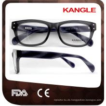Zuverlässige und gute runde Brillenrahmen des unteren Preises
