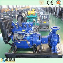 Unité de pompe à essence diesel pour l'irrigation et le Sawage