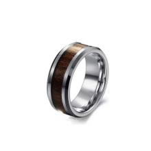 Venda quente, moda jóias personalizado carboneto de tungstênio anéis