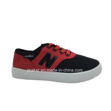 Chinesischer klassischer Sport-Segeltuch-Schuh des Kindes (L099-S & B)