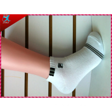 White Color Unisex Ankle Sport Sock