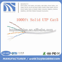 1000TP 4pairs Cat5 Network Solid Copper UTP Cable