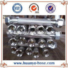 Materiales resistentes al calor Manguera trenzada de acero inoxidable Manguera / tubo flexible de metal