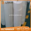 maquinaria textil 70% viscosa y 30% poliéster spunlace toallitas no tejidas