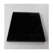Good quality black color back painted glass for wardrobe sliding door  kitchen living room furniture