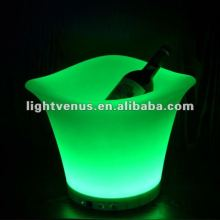 Rechargeable Bar/Party Plastic Ice Bucket with Lid