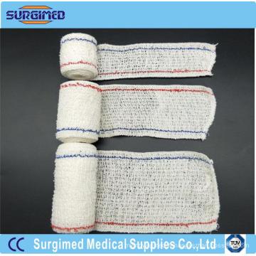 Bandage élastique médical jetable de crêpe