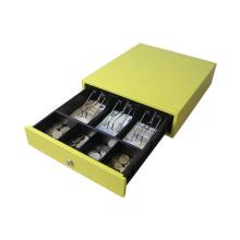 Economical retail store 3 positions 3 bills 4 coins mini cash drawer for cash registers