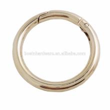 Anel redondo anel de metal de boa qualidade anel grande o