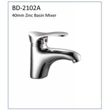 Bd2102A 40mm Zinc solo grifo del lavabo de la palanca