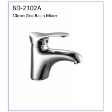 Bd2102A 40mm Zinc Single Lever Basin Faucet