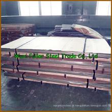 Folha de aço inoxidável frente e verso da chapa de aço inoxidável 2205