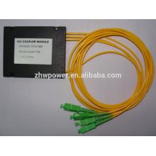 SC APC 1X2 PLC Diviseur à fibre optique monomode, diviseur de fibres optiques 1X32, adaptateur optique FBT